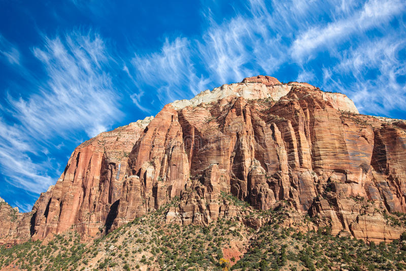 Download West Temple Sundial In Zion Stock Photo - Image: 17422808