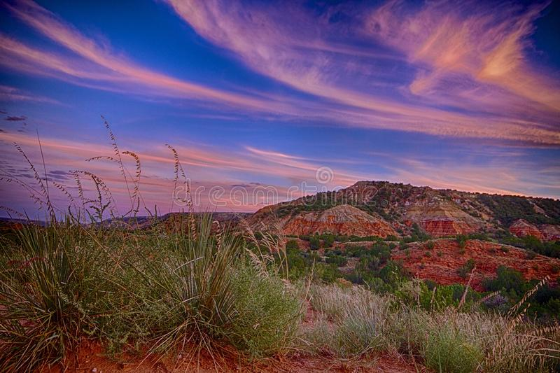 West Texas Sunset royalty free stock images