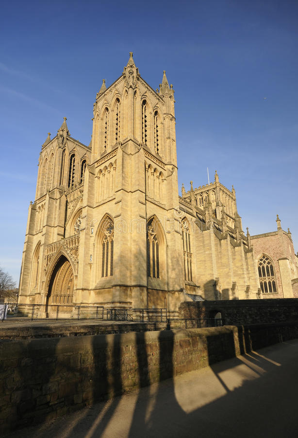 Bristol Cathedral royalty free stock image