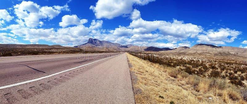 West-TX Guadalupe Mountains National Park lizenzfreie stockfotografie