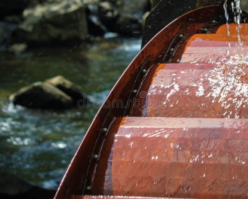 West Virgina Water Wheel stock images