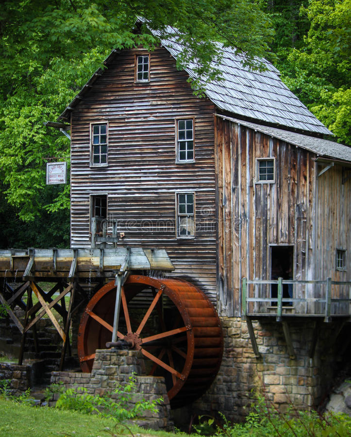 West Virginia Mill royalty free stock image