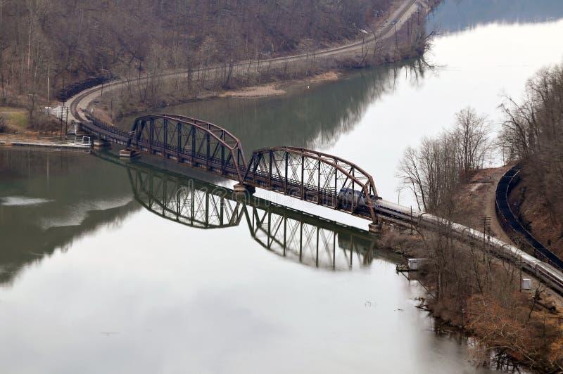 Download West Virginia Railroad Bridge Stock Photo - Image: 3958318