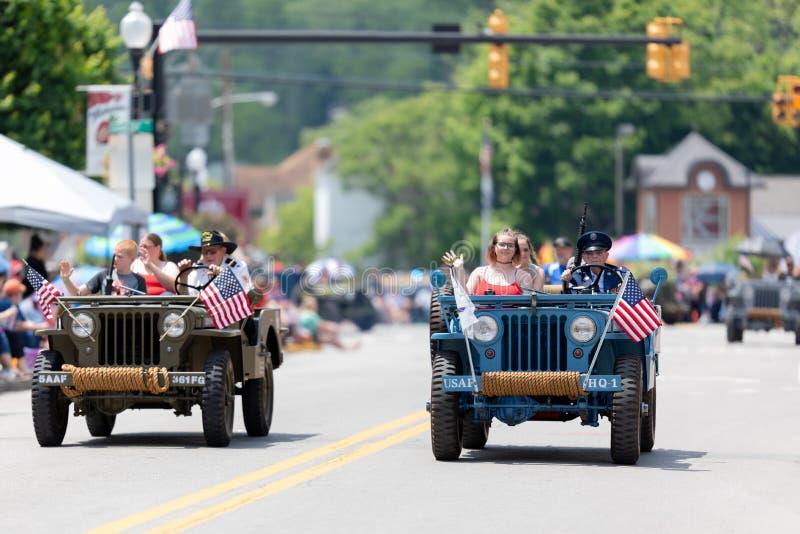West Virginia Strawberry Festival 2019 royalty free stock photos