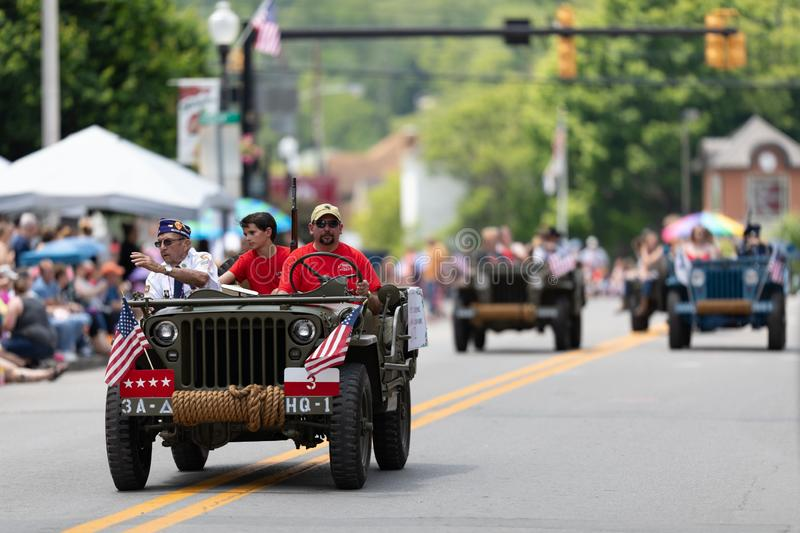 West Virginia Strawberry Festival 2019 stock photography