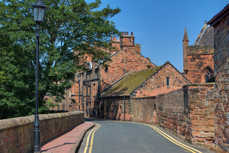 Download West Walls, Carlisle stock photo. Image of historic, west - 16166578