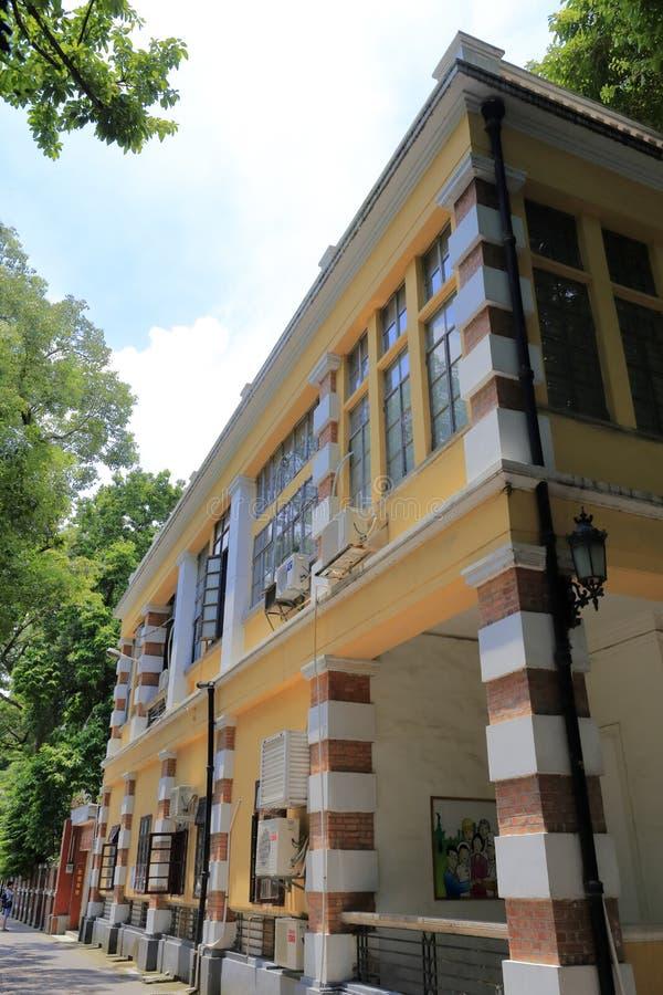 Westarthaus in shamian szenischem lizenzfreies stockbild
