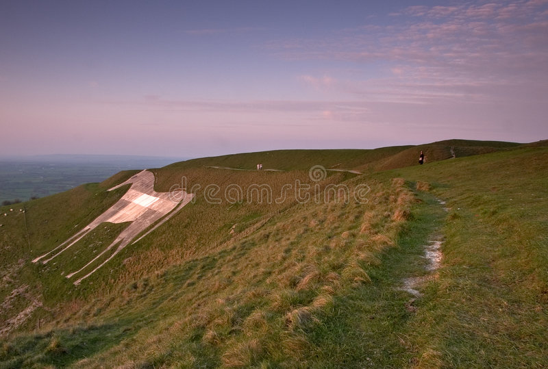Download Westbury White Horse stock image. Image of arthur, white - 129691