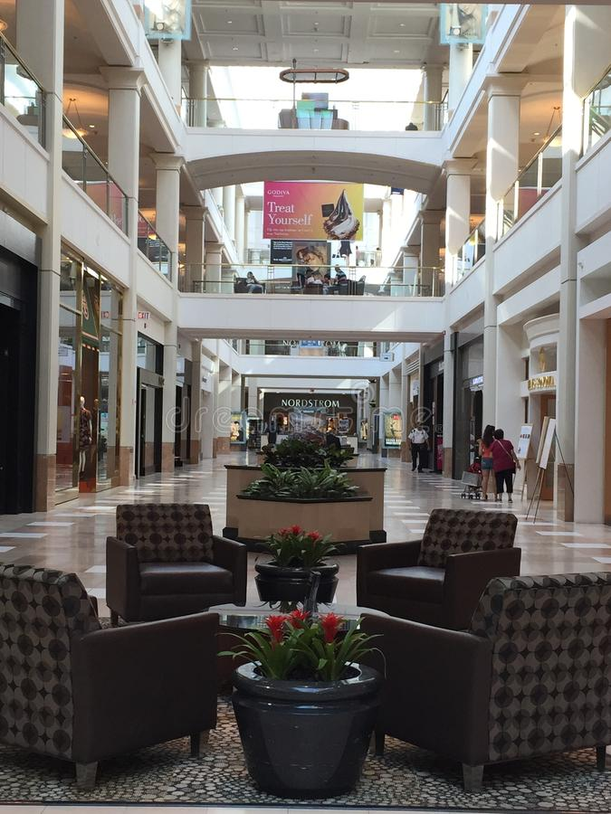Westchester购物中心在White Plains,纽约 库存照片