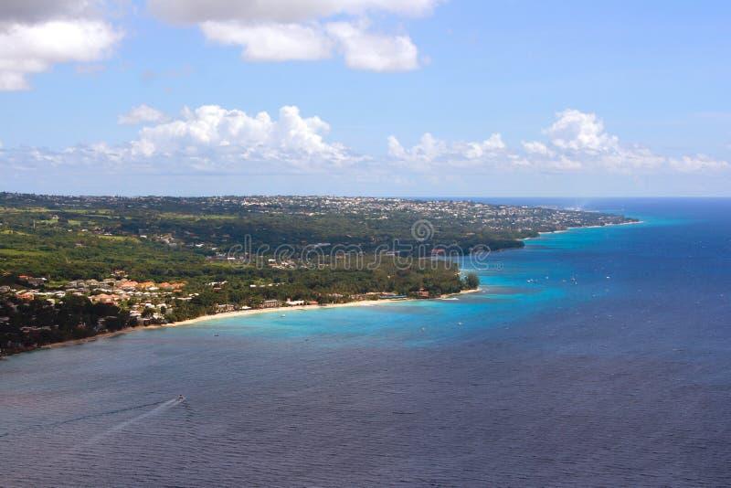 Westcoast Barbados fotografía de archivo libre de regalías