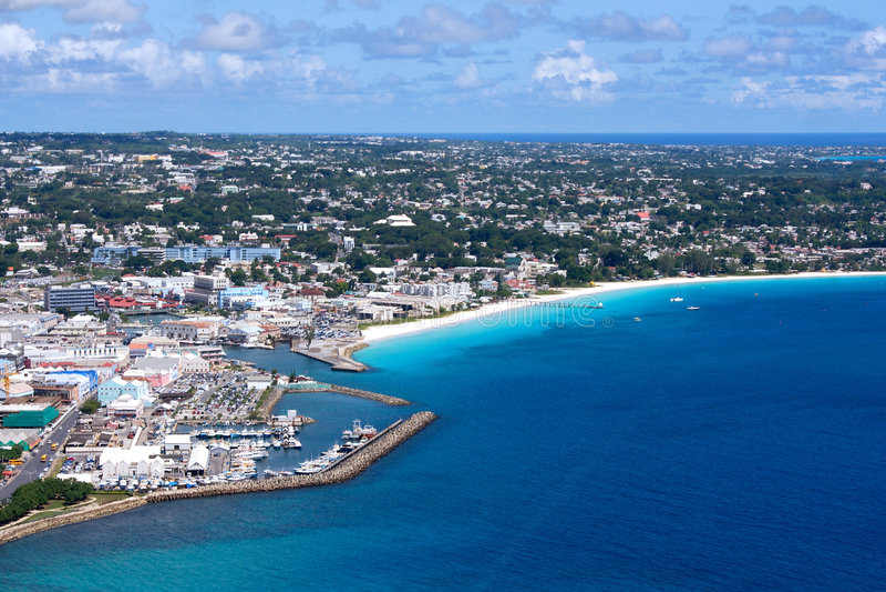 Westcoast Barbados imagens de stock