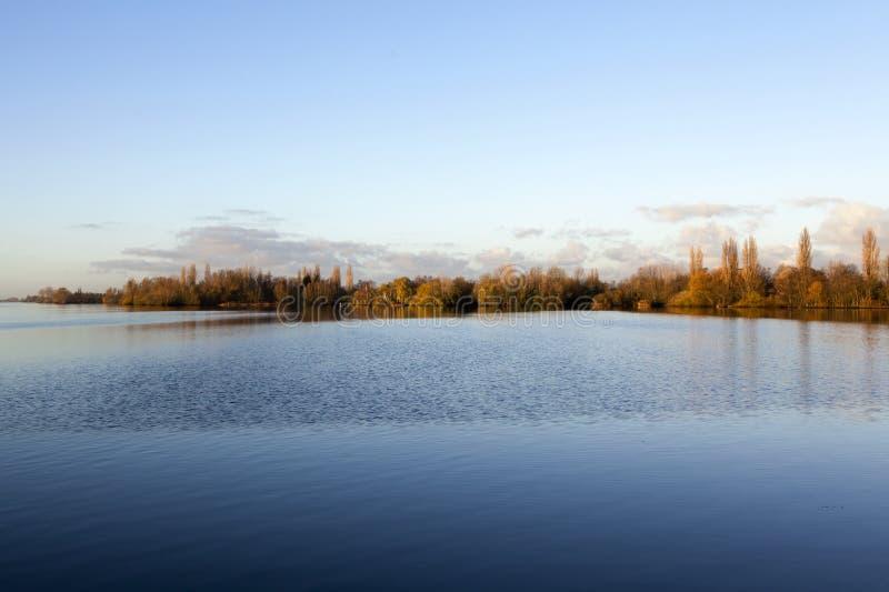Westeinder Plassen See in Aalsmeer - Holland - das niederländische (Europa) stockfotos