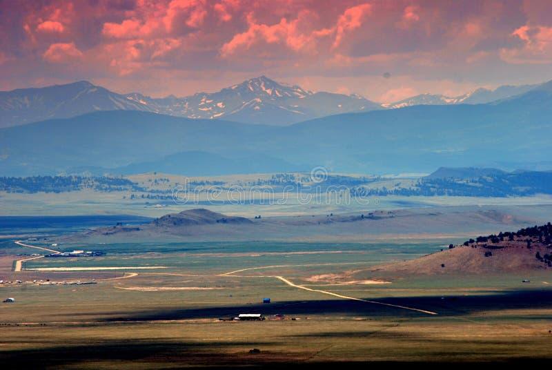Westelijk Landschap de V.S. royalty-vrije stock foto's