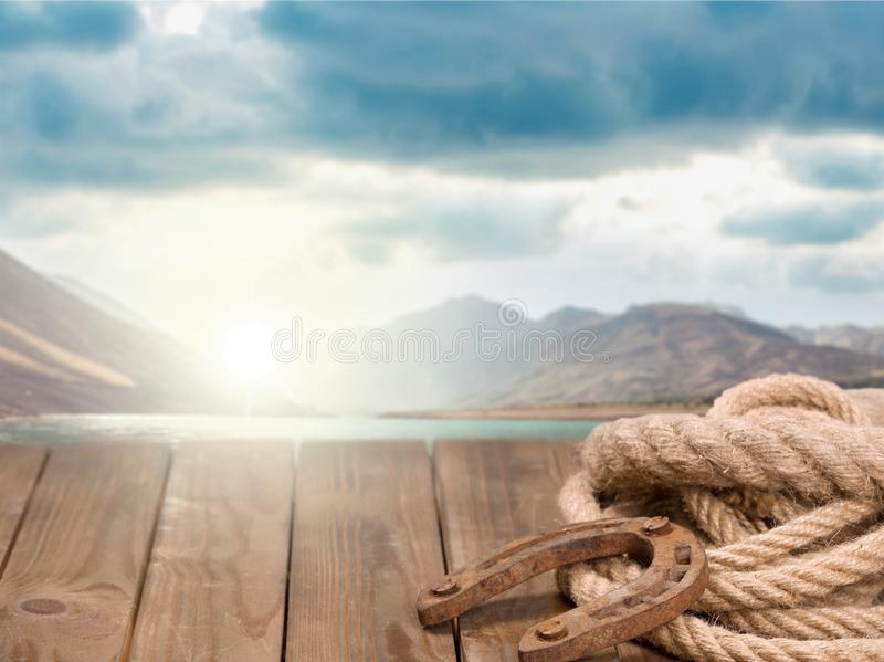 Westelijke achtergrond stock foto