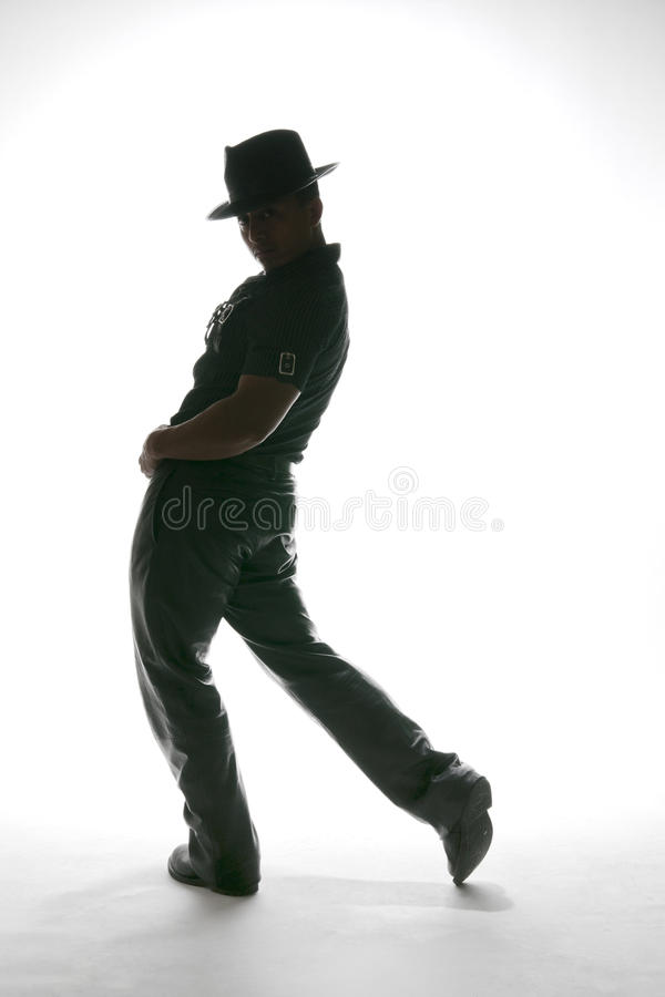 Westelijke Dansende Stap royalty-vrije stock fotografie