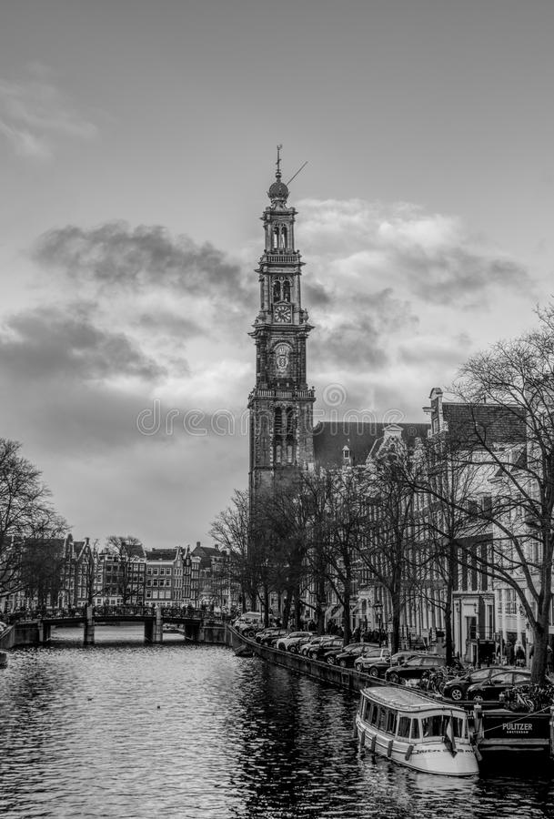 Westerkerk a Amsterdam immagine stock libera da diritti
