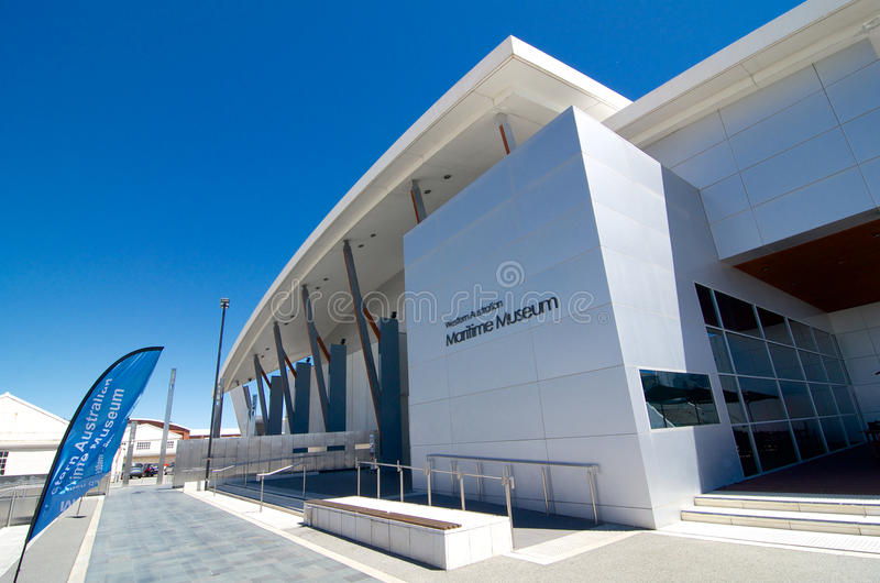 Western Australia Maritime Museum. Perched on the Indian Ocean's shore, the Western Australian Maritime Museum is symbolic of Fremantle's past, present and stock photos