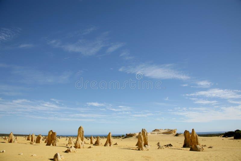 Western Australia - Pinnacles royalty free stock images