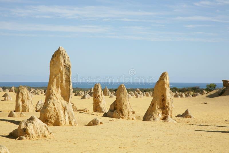 Western Australia - Pinnacles royalty free stock photos