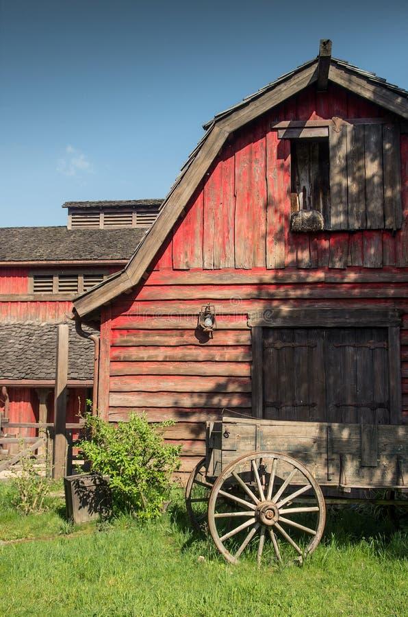 Western Barn royalty free stock image