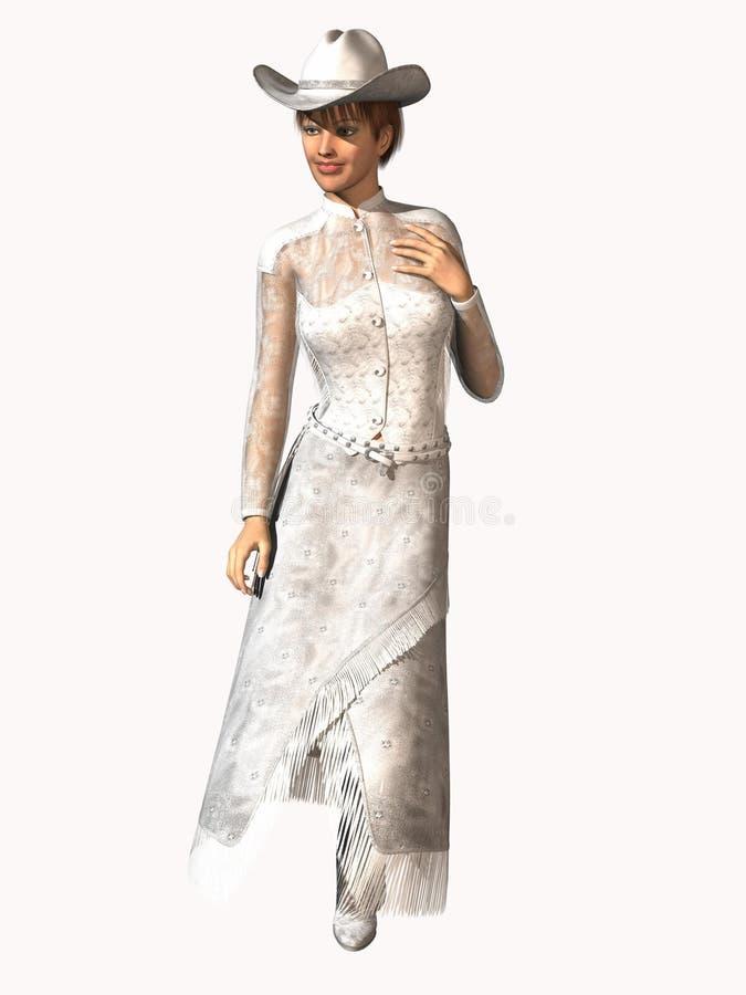 Download Western Bridal fashion stock illustration. Image of western - 4276696