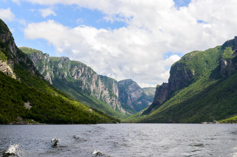 Western Brook Pond royalty free stock photography