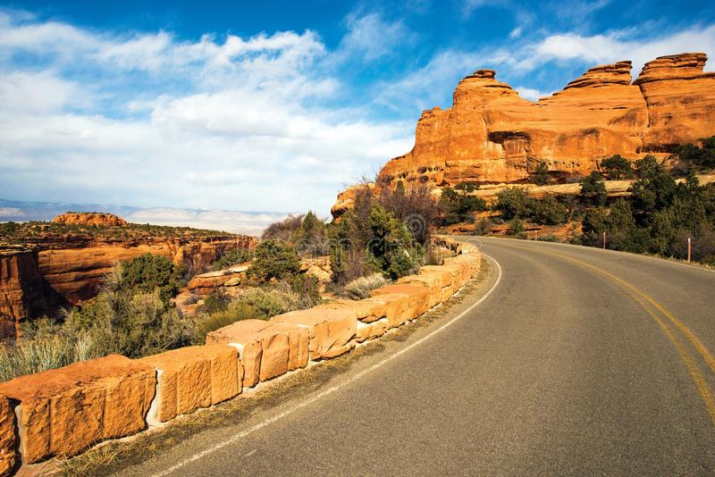 Western Colorado Landscape. Colorado Monument Road Trip. Grand Junction, Colorado, United States stock images