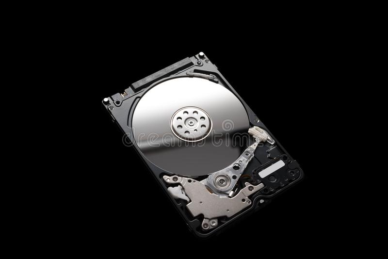 Western Digital 500G 2.5-Inch Laptop Hard Drive Cover stock photo