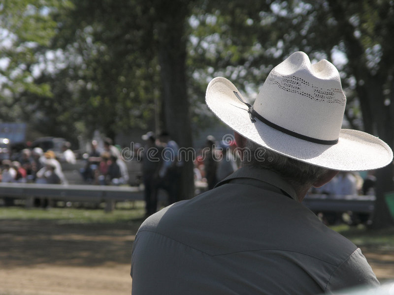 Western Event Spectator stock images