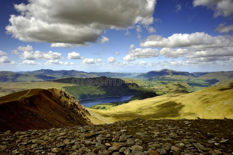 Download Western Fells stock image. Image of england, rocks, crags - 28796203