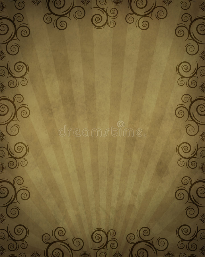 Free Western Frame With Twirls Stock Images - 4161794