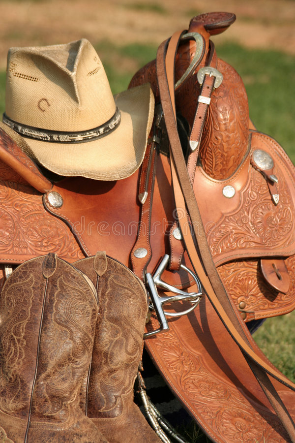 Western Gear royalty free stock photos