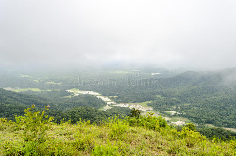 Western Ghat. Older than the Himalaya mountains, the mountain chain of the Western Ghats represents geomorphic features of immense importance with unique royalty free stock photography