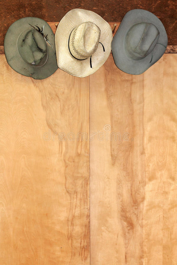 Western Hat Decor royalty free stock images