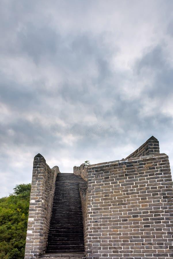 western Jinshanling Great Wall stock photography