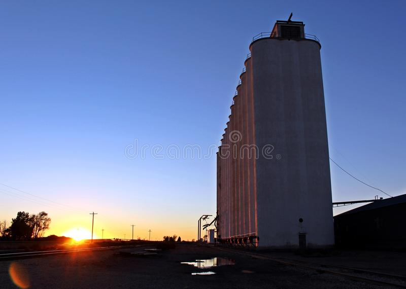 Western kansas stock images