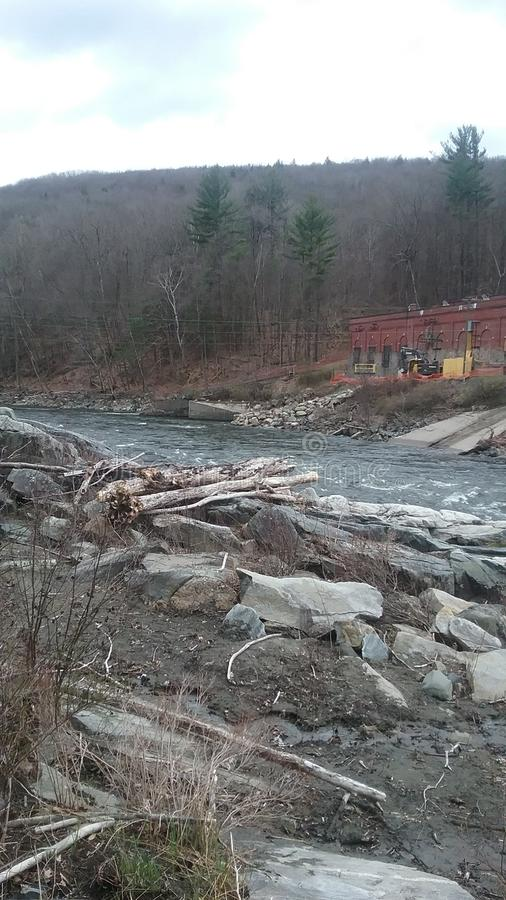 Western Mass River stock photography