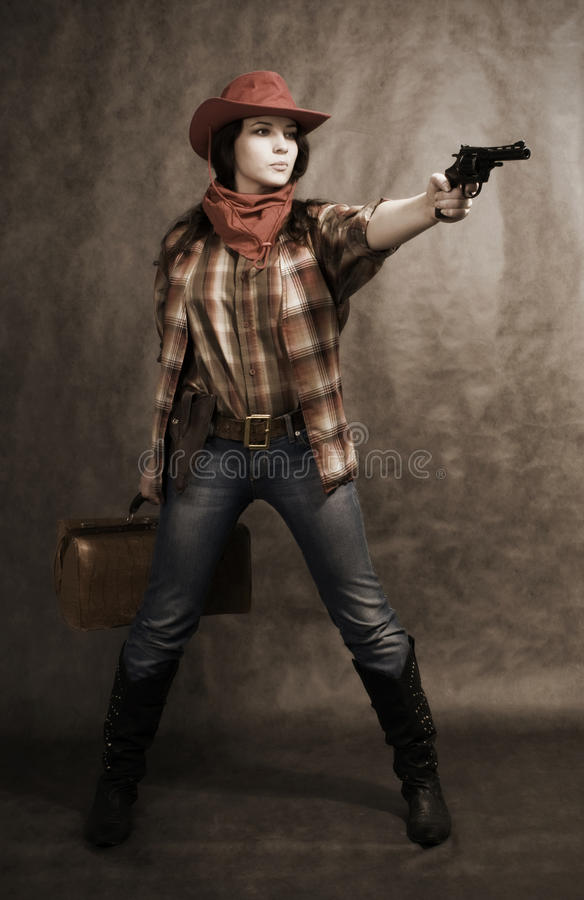 Download In a western movie style stock photo. Image of rural - 12540362