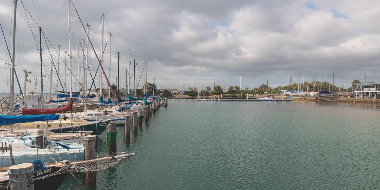 Download Western Port Marina editorial stock photo. Image of peaceful - 27955908