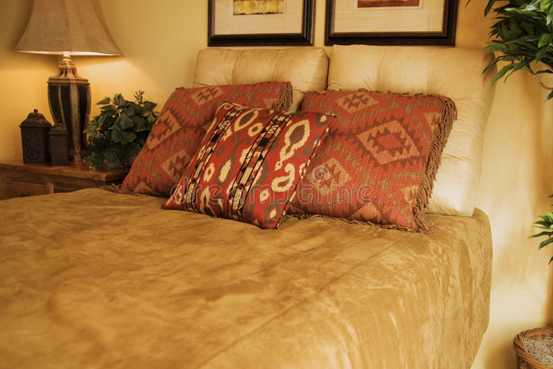 Western Ranch Bedroom royalty free stock photography