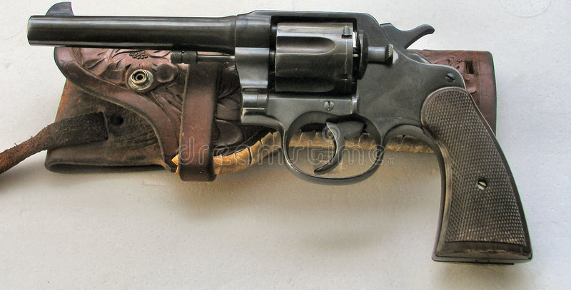 Download Western Revolver And Holster Stock Photography - Image: 86882