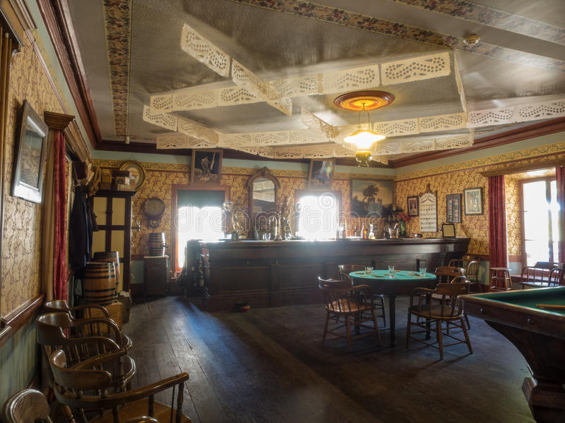Western Saloon. Is a kind of bar particular to the Old West stock images