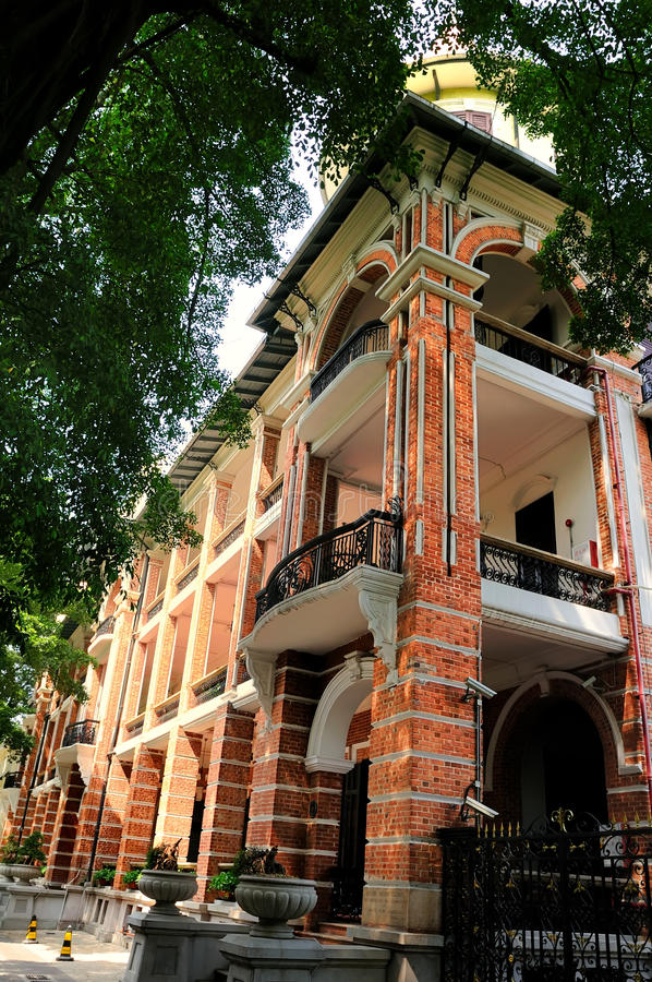 Download Western Style Building Of 19th Century In Shamian Stock Photo - Image of foreign, guangzhou: 22345496