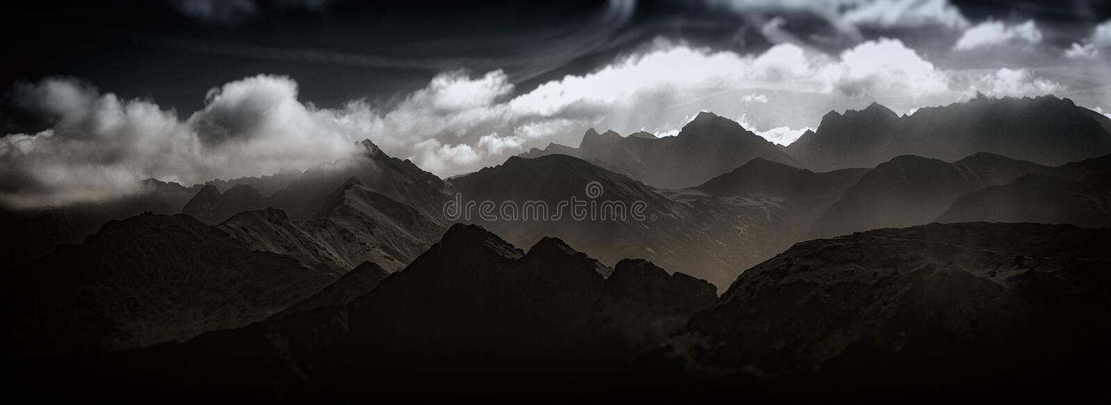 Download Western Tatras Mountain In Poland Stock Photo - Image of country, hiker: 90090672