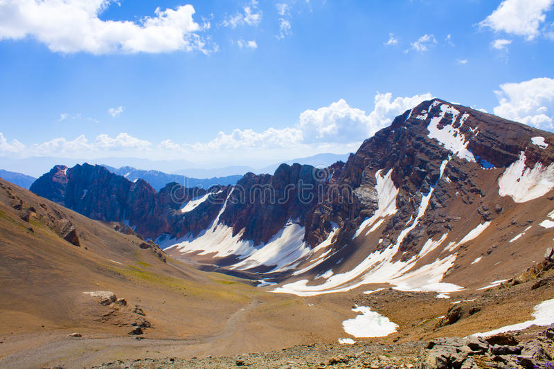 The Western Tien Shan royalty free stock photography