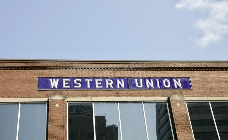 Western Union royalty free stock images