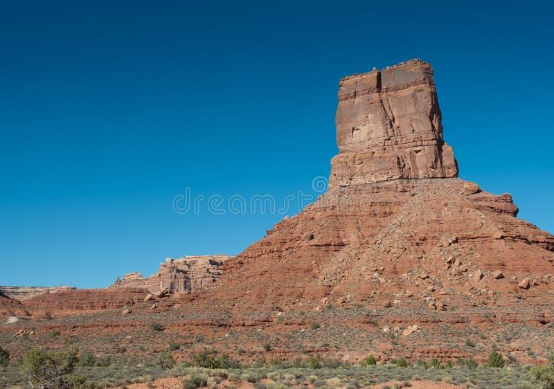 western USA krajobraz zdjęcie royalty free