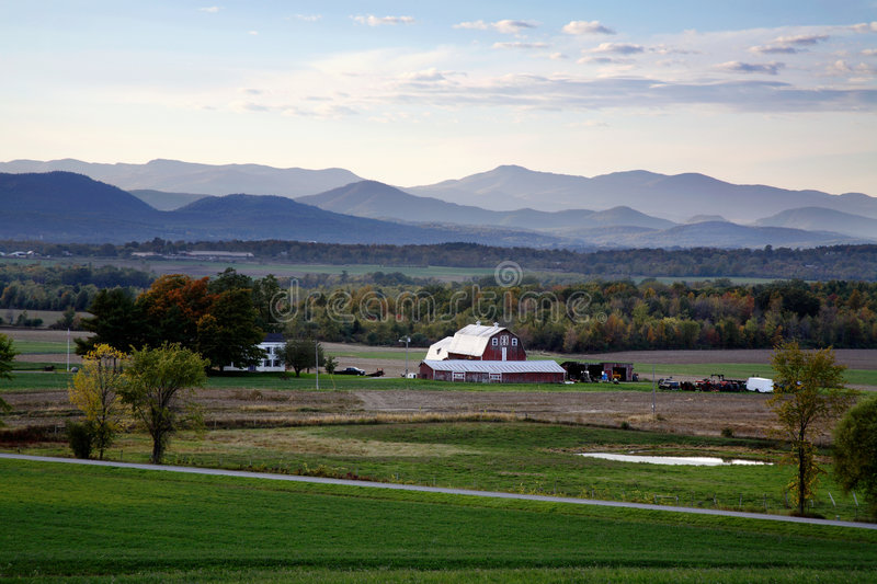 Western Vermont stock images