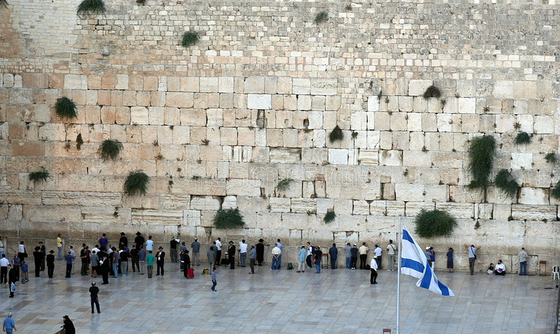 The Western Wall royalty free stock photos