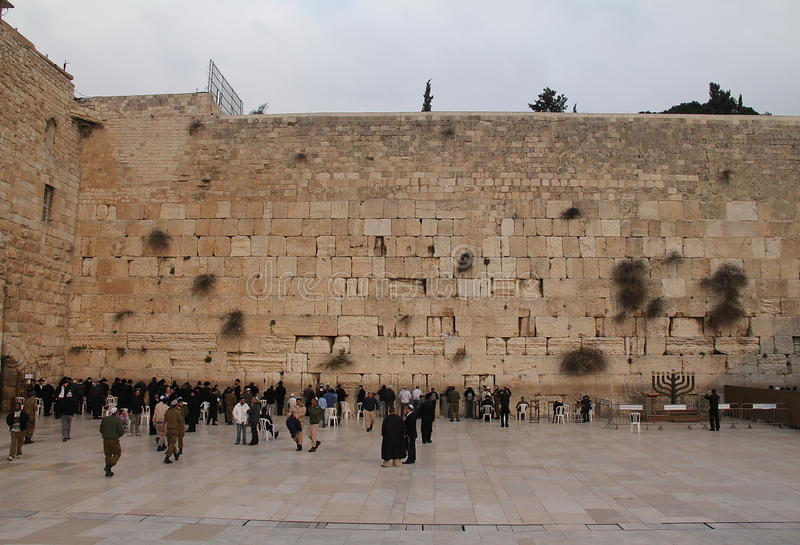 Download Western Wall editorial photography. Image of channukkah - 22560772